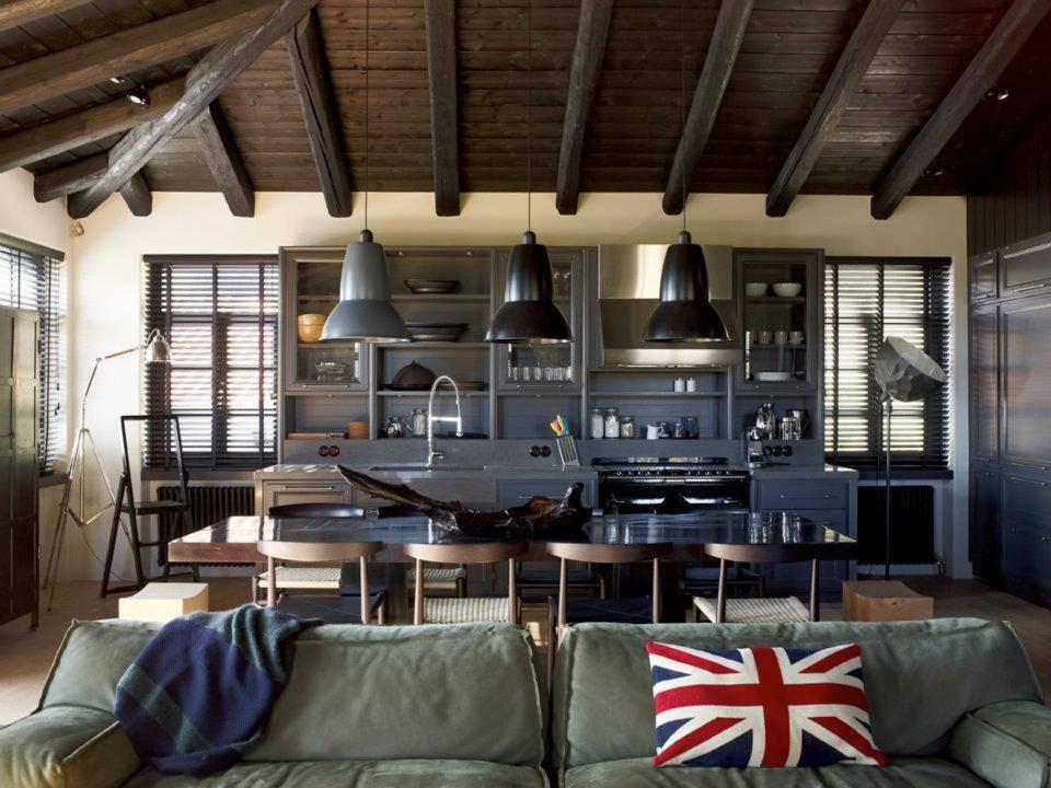 Industrial Interior House Design Brazil Modern House Plans 80520
