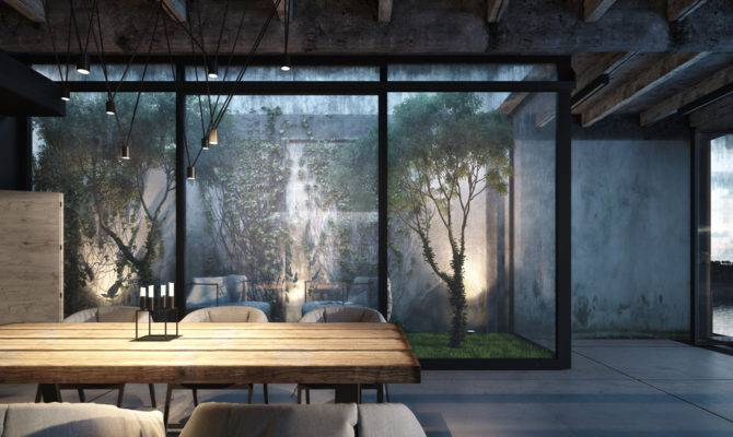Industrial Style Home Design
