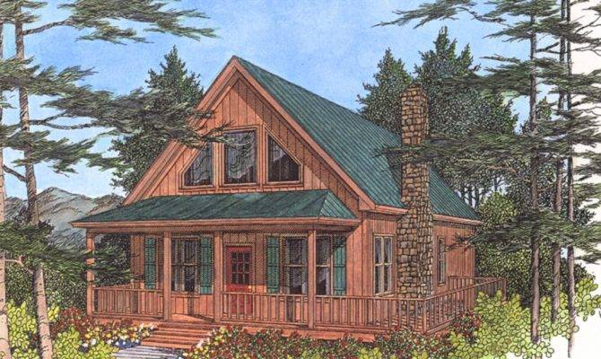 Inexpensive Small Cabin Plans Lake Cottage