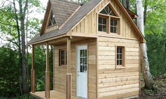 Inexpensive Small Cabin Plans Loft