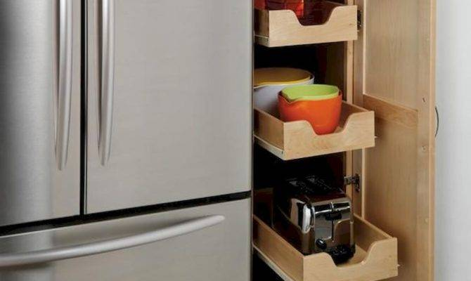 Ingenious Hidden Kitchen Cabinet Storage Solutions