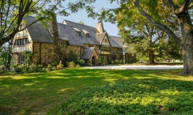 Inside Grand English Manor Style Home Westchester