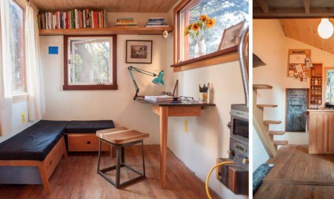 Inside Storey Matthew Wolpe Tiny House