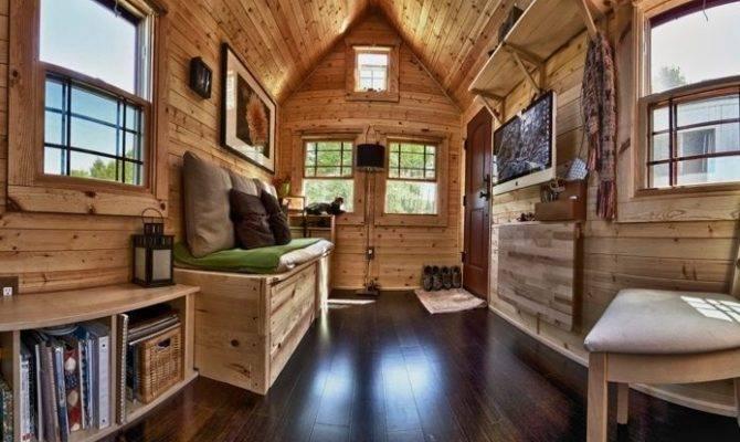 Inside Tiny Houses Car Interior Design