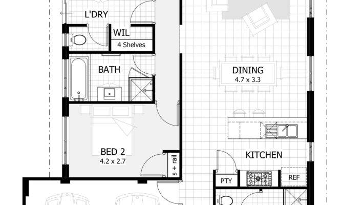 Inspirational Bedroom One Story House Plans