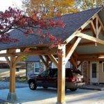 Inspiring Carport Ideas Attached House Wood