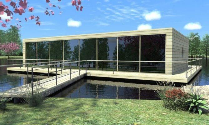 Inspiring Floating Lake House Decide Best Plans