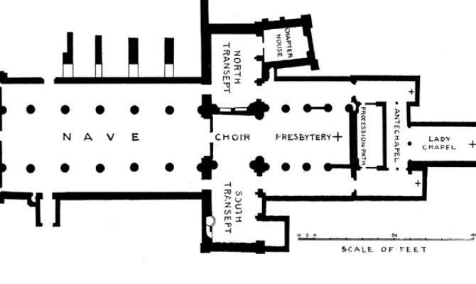 Inspiring Gothic Architecture Floor Plan