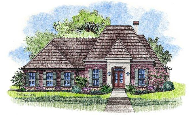 Inspiring Small French Country House Plans