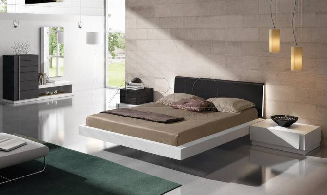 Inspiring Stylish Floating Bed Design Ideas