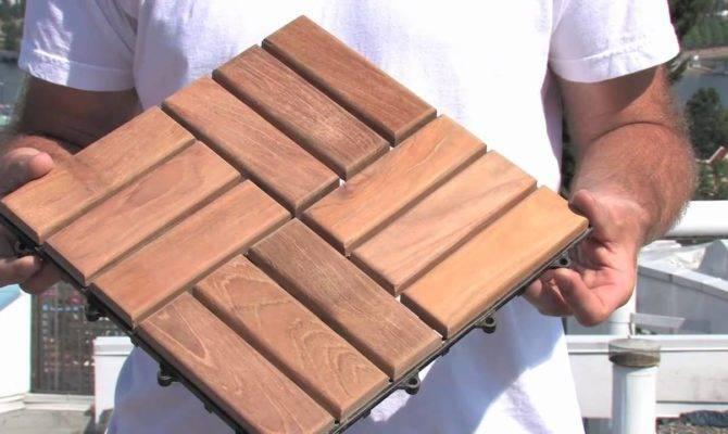 Install Deck Tiles Youtube