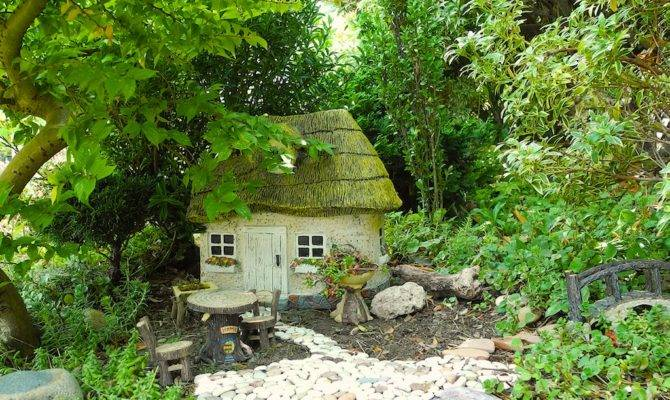 Install Mini Fairy Houses Your Miniature