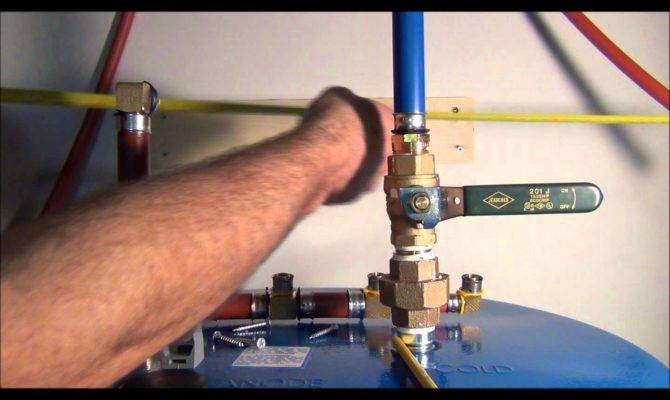 Install Pex Pipe Waterlines Your Home Part Plumbing Tips
