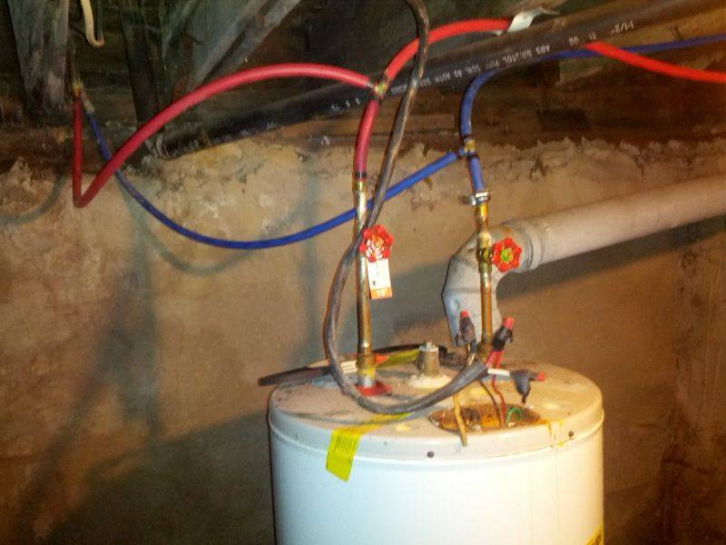 Installing Pex Water Heater Connectors House Photos Plans 154215