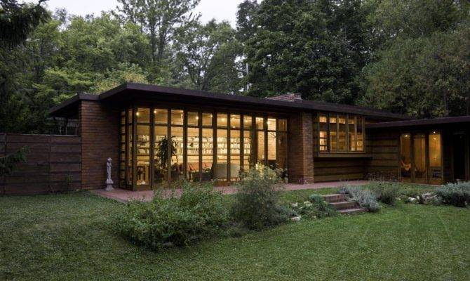 Instant House Frank Lloyd Wright Usonian Homes