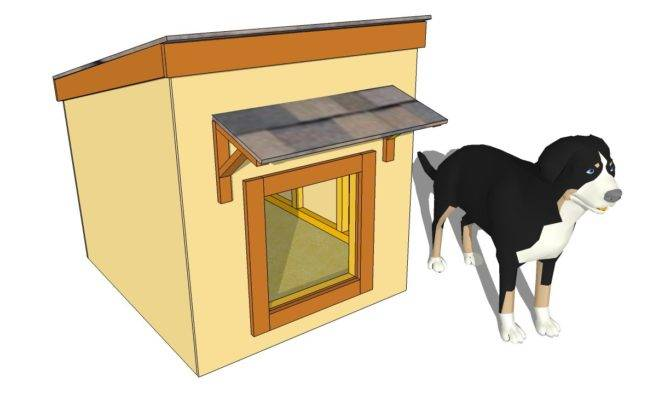 Insulated Dog House Plans Small Large