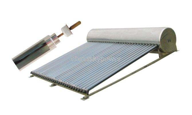 Integrated Pressurized Heat Pipe Solar Water Heater Character