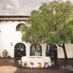 Interior Courtyard Home Features Fountain Views