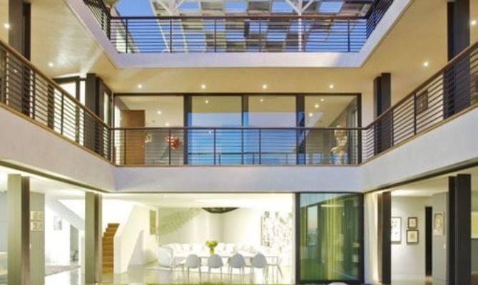 Interior Courtyard House Plans Houzz