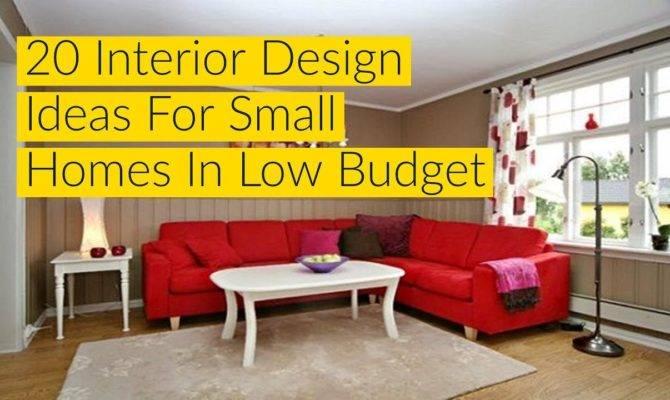 Interior Design Ideas Small Homes Low Budget