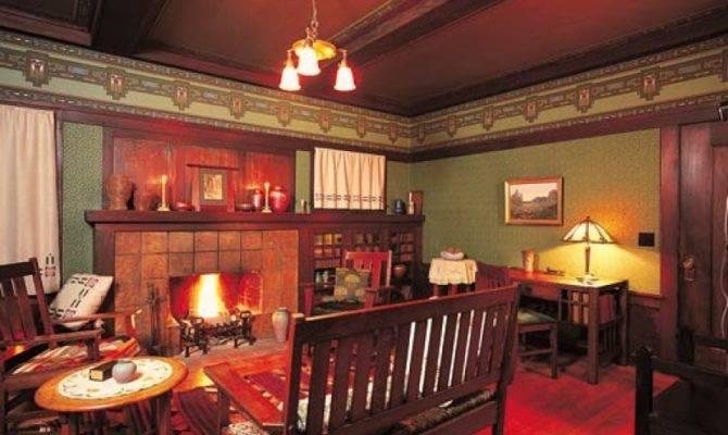 Interior Design Living Room Craftsman Style Bungalow Berkeley
