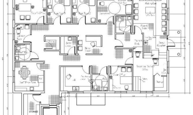 Interior Exterior Floor Plan Autocad