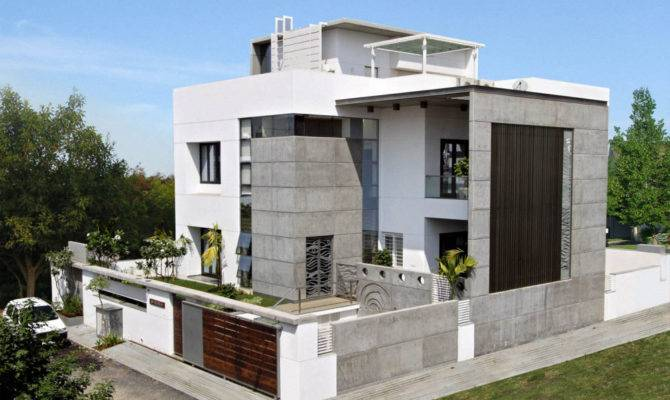 Interior Exterior Plan Lavish Cube Styled Home Design Smaller