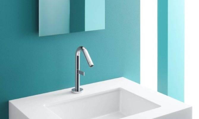 Interior Rectangular Sinks Bathroom Small