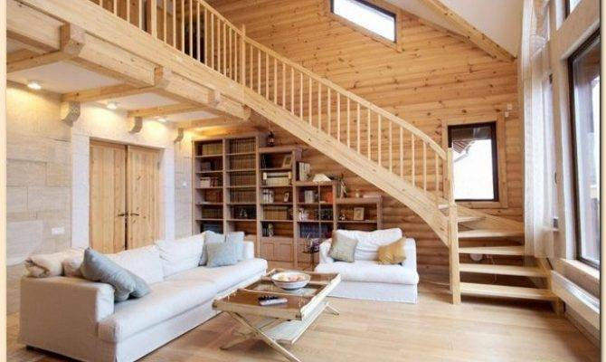 Interior Wooden Houses Clean Attractive Beautiful Home