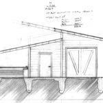 Interlocking Shed Roofs Longitudinal
