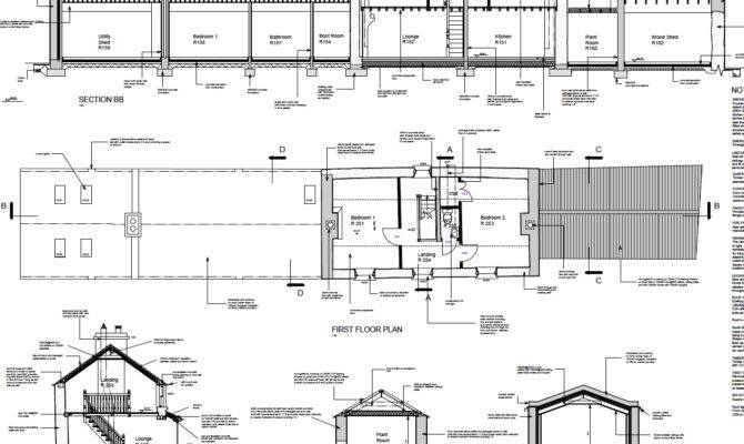 Irish Vernacular Farmhouse Restoration Plans Cottage