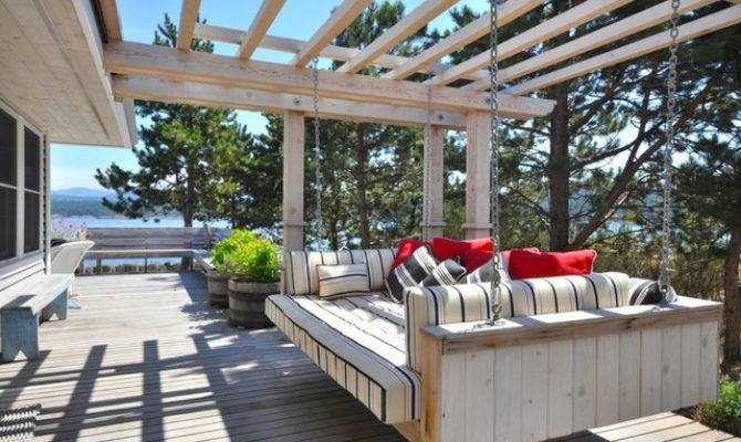 Island Cottage Beach Style Deck Vancouver