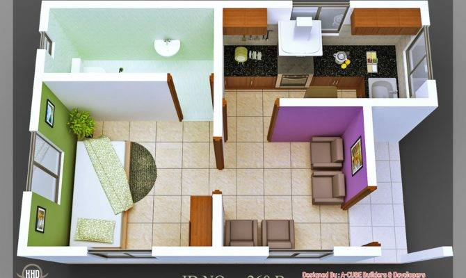 Isometric Views Small House Plans Home Garden Design