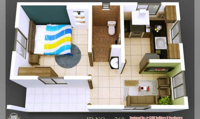 Isometric Views Small House Plans Home Sweet