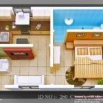Isometric Views Small House Plans Kerala Design Idea