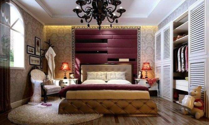 Italian Bedroom Interior Neoclassical