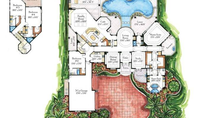 Beware There Are 22 Villa Plans And Designs Will Blow Your Mind House Plans