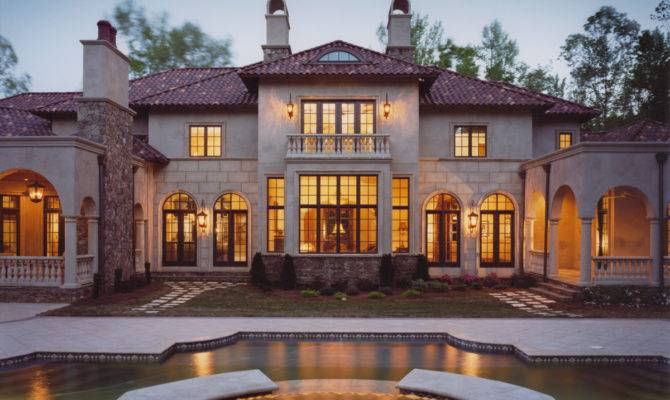 Italian Renaissance Style House Plans