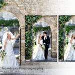 Italian Storybook Wedding Album Portrait
