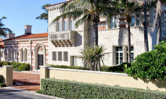 Italian Style Palm Beach Home Sale Million Business