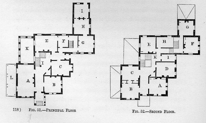 Italian Villa Floor Plan Group Tag