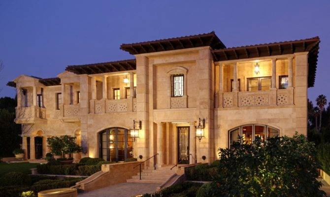 Italian Villa Landry Design Group Inc