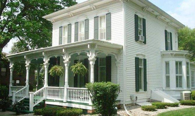 Italianate Architecture Iowa House Plans 124534
