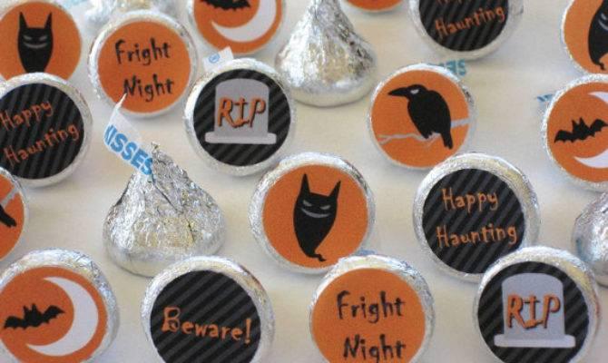 Items Similar Halloween Hershey Kiss Stickers Diy