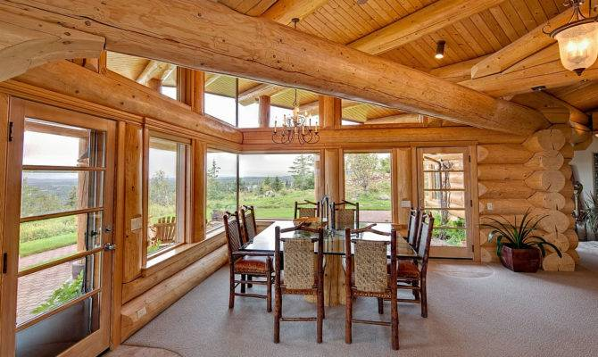 Ivy Architects Contemporary Log Home