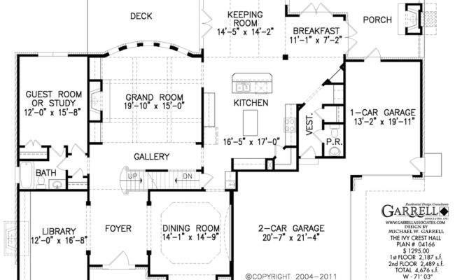 Ivy Crest Hall House Plan Estate Plans