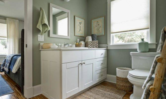 Jack Jill Bathroom Blog Cabin Diy Network