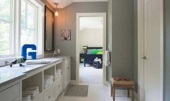Jack Jill Bathroom Design Transitional
