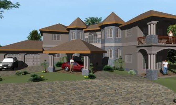 Jamaican House Plans Design