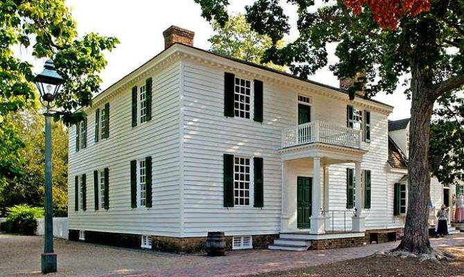 James Geddy House Colonial Williamsburg Official History